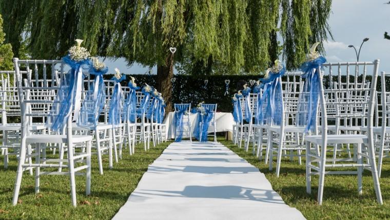 Il matrimonio civile all'aperto